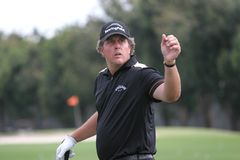 2007 doral mickelson phil Arkivfoton