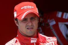 2007 f1 Felipe Ferrari massa Zdjęcia Royalty Free