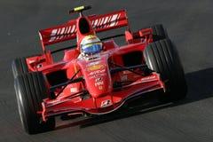 2007 f1 massa ferrari του Felipe Στοκ Εικόνες