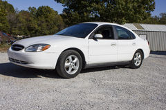 2007 Ford Taurus Four Door Sedan Flex Fuel stock images