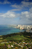 2007 Hawaii. Oahu Overview. Taken from Diamond Head, Honolulu Stock Images