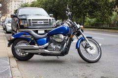 2007 Honda Ocienia Aero motocykl obraz stock