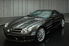 2007 Mercedes Benz SLR McLaren. At the Mercedes Benz main showroom in Stuttgart, Germany