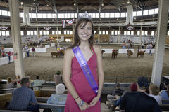 2007 Miss Iowa State Fair Queen Royalty Free Stock Image
