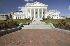The 2007 restored Virginia State Capitol, Stock Photo
