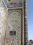 2007 szczegółów Samarkand shakhi zindah Obraz Stock
