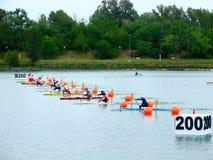 2008个冠军欧洲flatwater 免版税库存图片