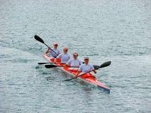 2008个冠军欧洲flatwater 库存照片