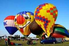 2008个气球热费拉拉的节日 图库摄影