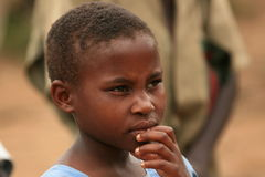 2008个第2个刚果11月博士难民 免版税库存图片