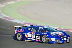 2008个24h迪拜轮胎toyo 免版税库存图片