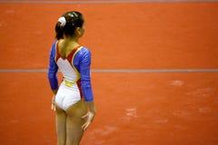2008全部体操米兰prix 库存照片