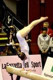 2008全部体操米兰prix 免版税库存图片
