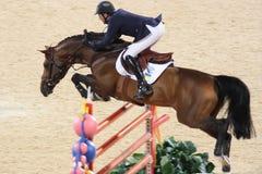 2008奥林匹克的骑马者g 库存图片