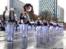 2008年克劳斯游行圣诞老人多伦多 库存图片