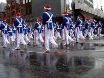 2008年克劳斯游行圣诞老人多伦多 免版税图库摄影