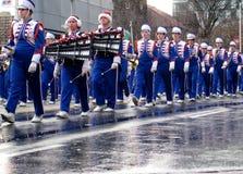 2008年克劳斯游行圣诞老人多伦多 免版税库存照片