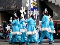 2008年克劳斯游行圣诞老人多伦多 库存照片