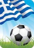 2008年冠军欧洲希腊足球 库存例证