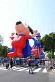 2008年美国日独立游行s 库存图片