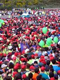 2008年里斯本马拉松 免版税库存图片