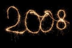 2008年闪耀 免版税库存照片