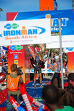 2008年非洲ironman南部 库存照片