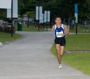 2008年马拉松新加坡 免版税图库摄影