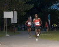 2008年马拉松新加坡 库存照片