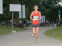 2008年马拉松新加坡 库存图片
