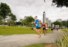 2008年马拉松运动员新加坡 免版税图库摄影