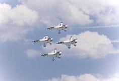 2008年afb航空商展mcguire 库存照片