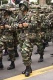 2008年merdeka游行 免版税库存照片
