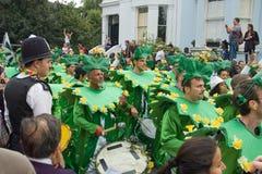 2008年notting狂欢节的小山 库存照片