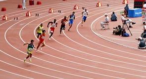 2008年paralympic北京的比赛 库存照片