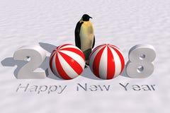 2008新年度 免版税库存照片