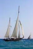2008条挑战经典panerai游艇 库存照片