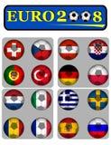 2008欧元 库存图片