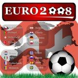 2008欧元 免版税库存图片