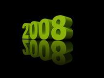 2008 år Arkivbild