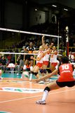 2008 весь волейбол залпа звезды игры стоковые фотографии rf