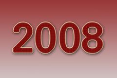 2008 Новый Год Стоковые Фото