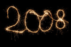 2008 сверкная Стоковое фото RF