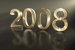 2008 счастливых Новый Год Стоковые Фото