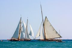 2008 яхт panerai возможности классицистических Стоковое Изображение