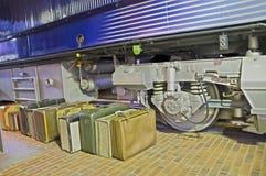 2008年行李 库存图片