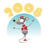2008年鼠标 库存照片