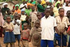 2008 2èmes réfugiés de Dr. nov. du Congo Photographie stock libre de droits