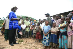 2008 2èmes réfugiés de Dr. nov. du Congo Image libre de droits