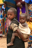 2008 2-ых беженцев Др. ноября Конго Стоковое фото RF
